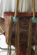 Sixtina Leather Handbag