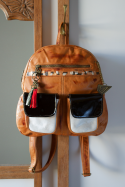 Backpack Jimena Black and White