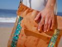 Mikonos Handbag Terracotta