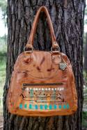 Artemisa Handbag With Art