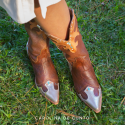 Laia Leather Boots Choco