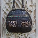 Leather Handbag Juana Black