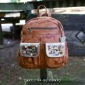Backpack Jimena Caramel Art