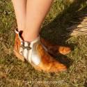 Leather Boots Eva Honey